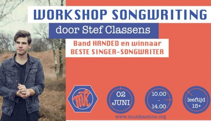 Workshop Songwriting in Muzikantine Horst