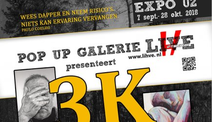 Let It Happen in Venray: 3K in Pop-Up Galerie